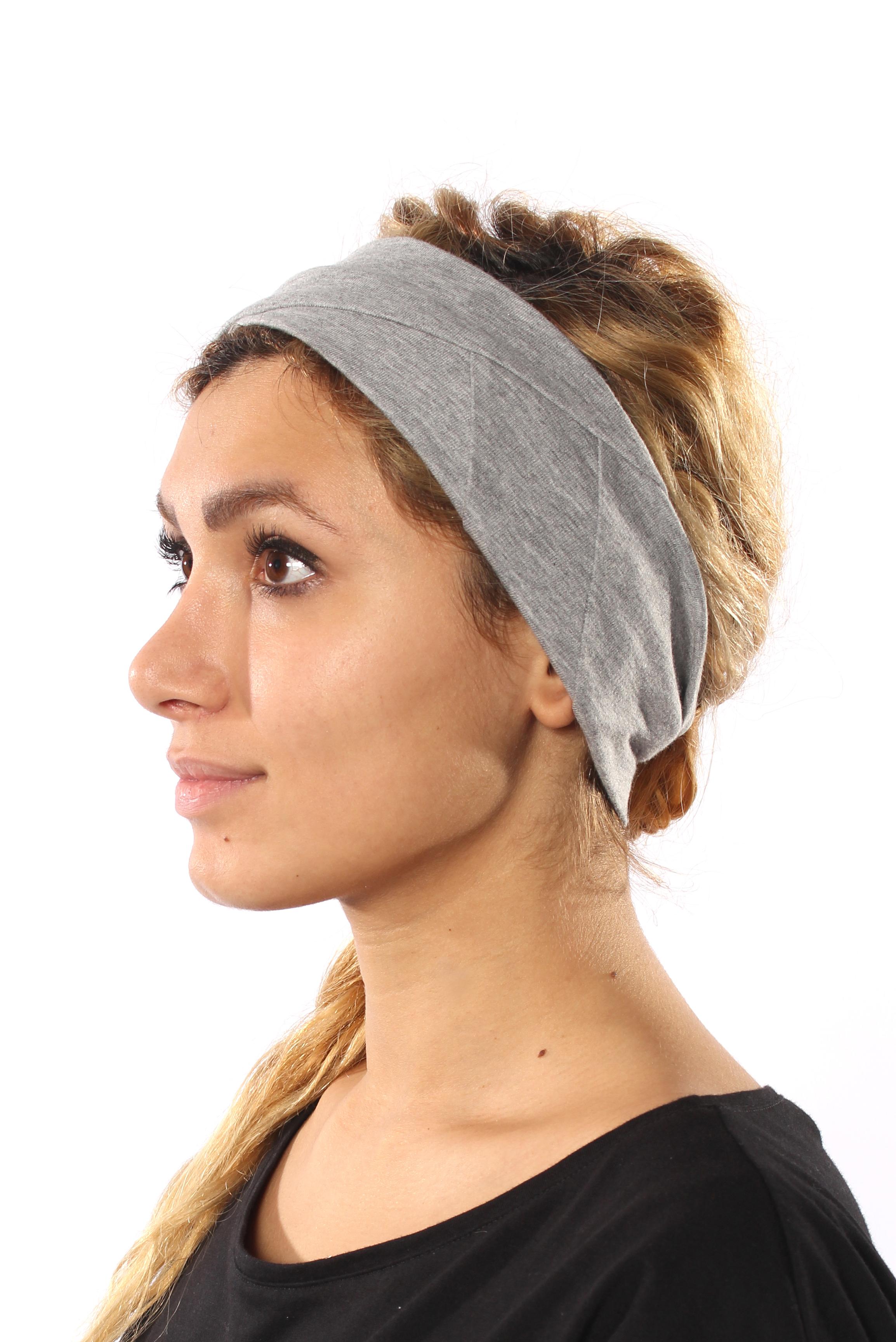 Stirnband in grau