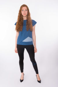 Sweat-Tshirt Blueduo