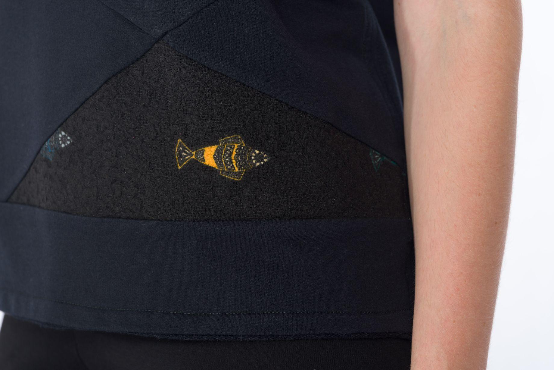 Sweat-Tshirt Fish