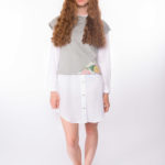 Sweat-Tshirt Shorty Tropic _ Bluse Vacama