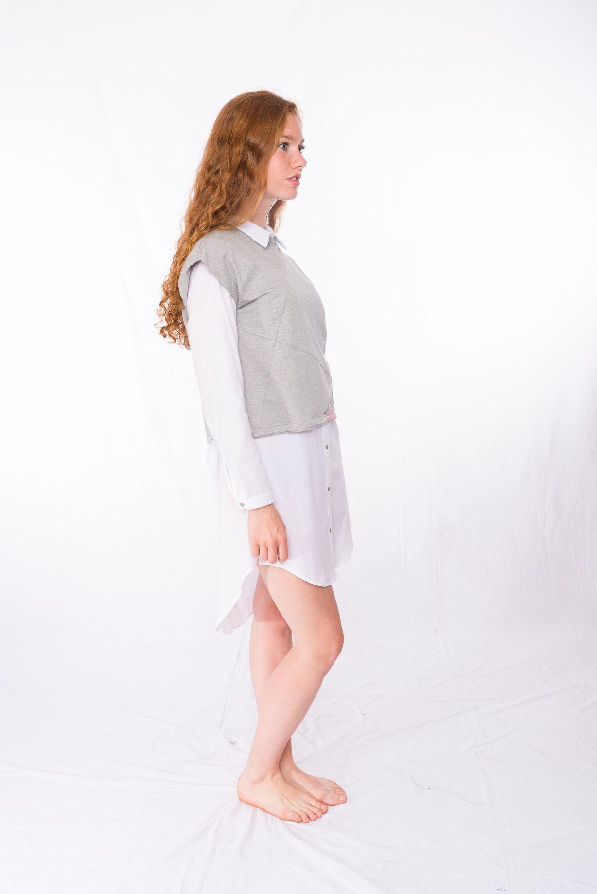 Sweat-Tshirt Shorty Tropic _ Bluse Vacama