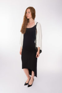 Cardigan White _Shirtkleid Macao