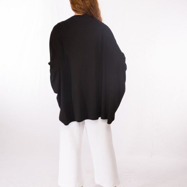 Cardigan Black _ Jumper Cavala