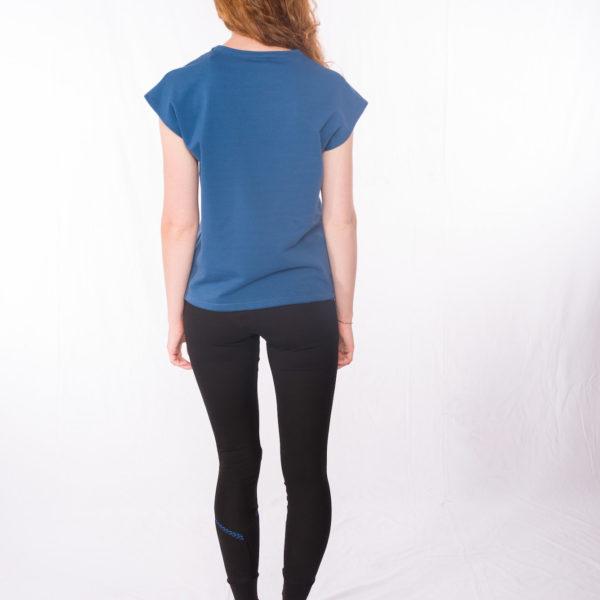 Sweat-Tshirt Blueduo _ Leggins Bluedots