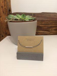Silberrohr-Armband
