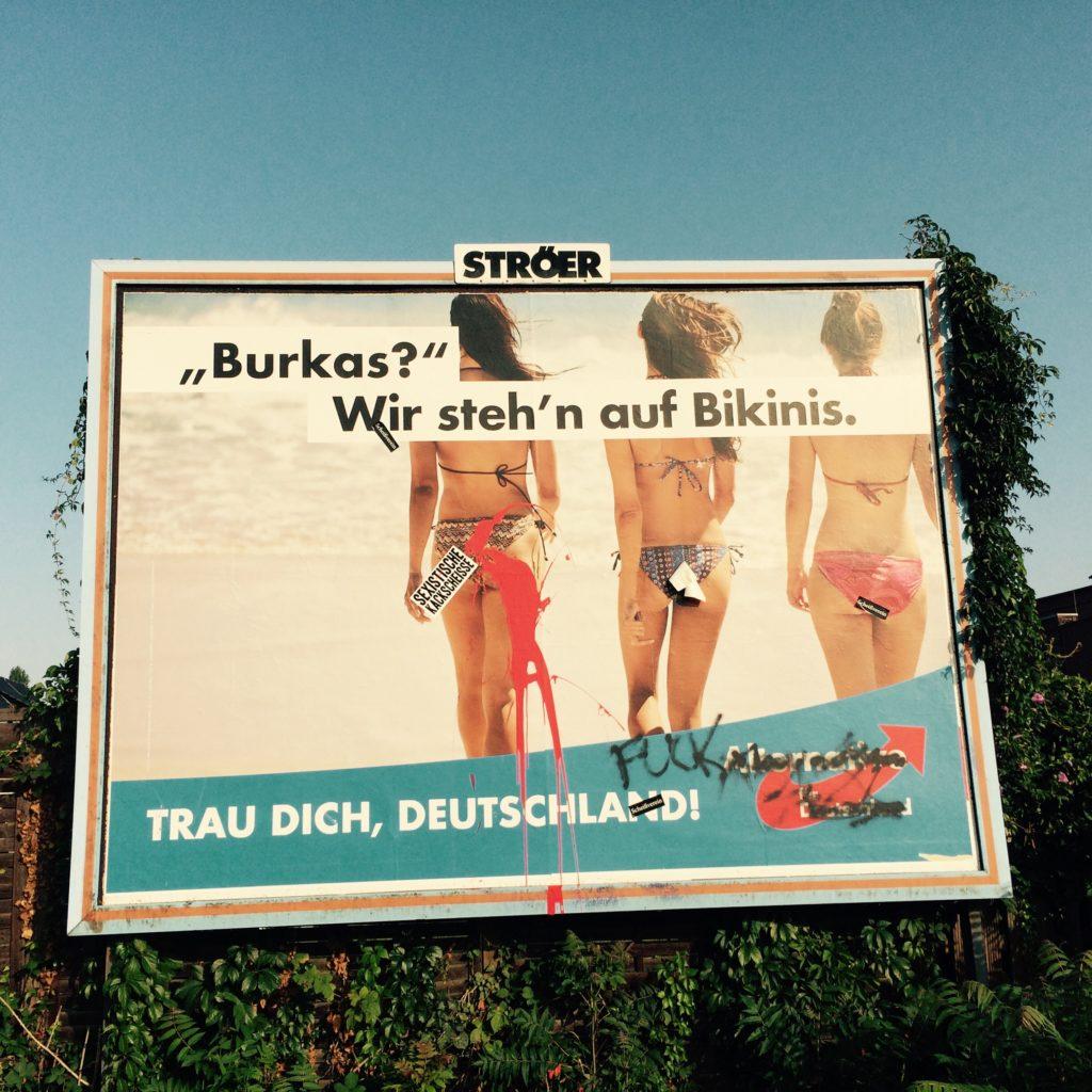 Eine Radfahrt mit politischen Hindernissen - oder: wtf, AfD.