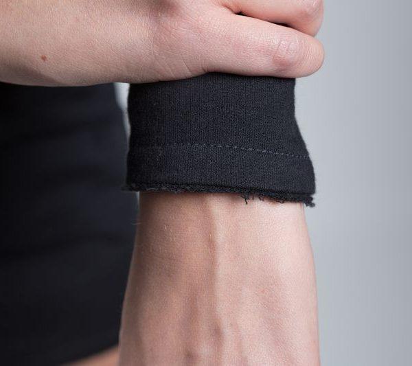 Sweatkleid Black