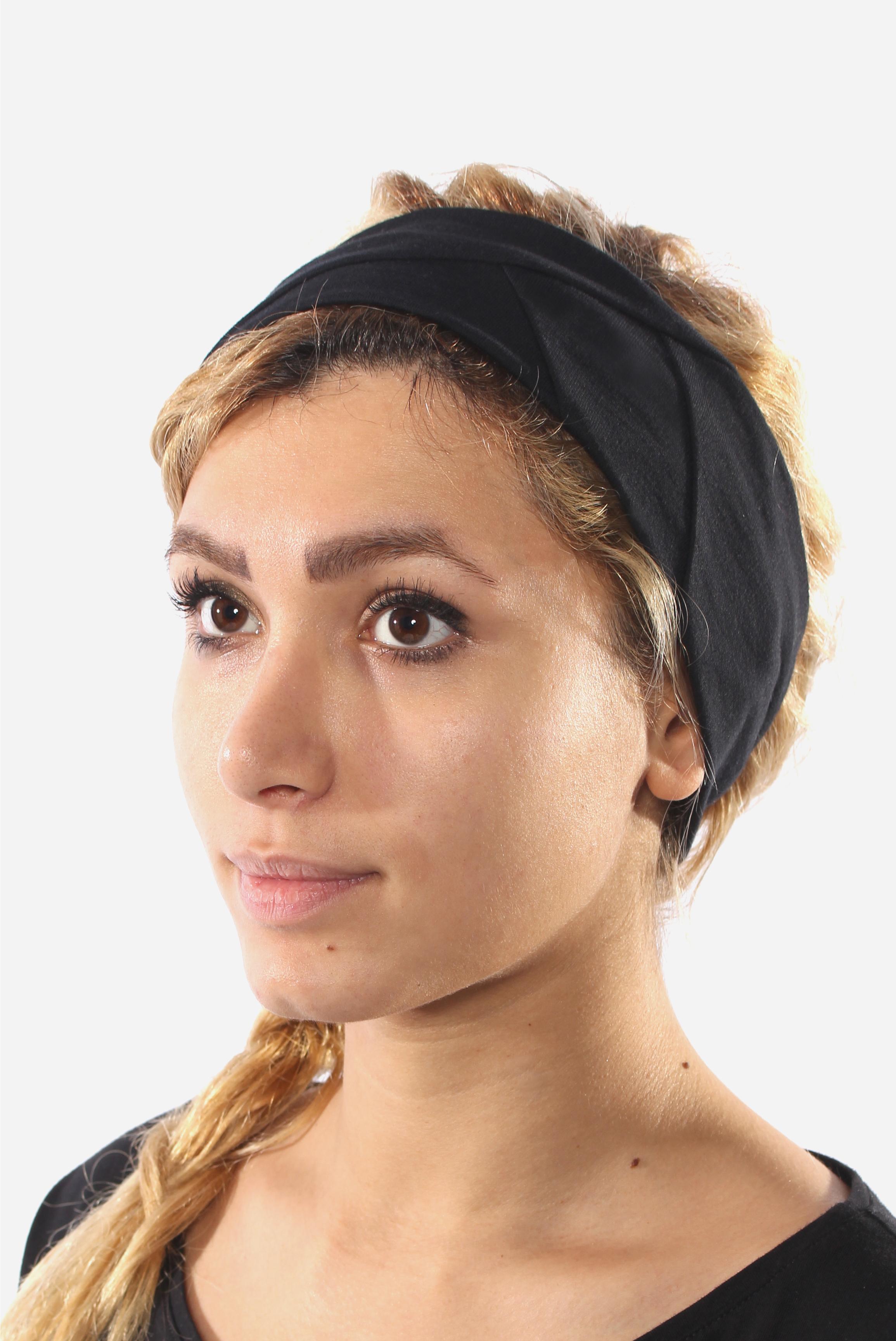 Stirnband in schwarz