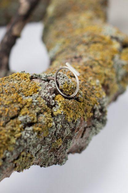 Silber Bar Ring