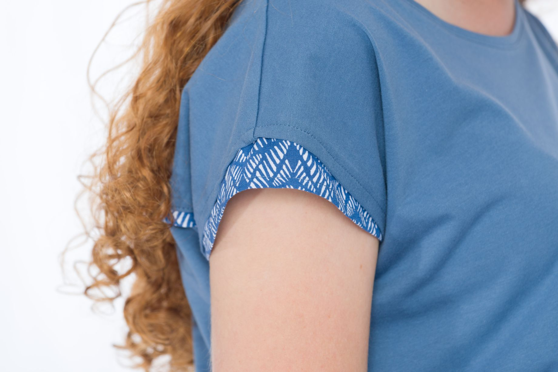 Shirt Blueleaves