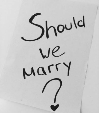Judith heiratet - Der Antrag