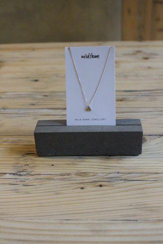 Dreieckskette Gold wild Fawn jas. slow fashion