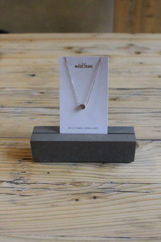 Kreiskette Silber wild Fawn jas. slow fashion