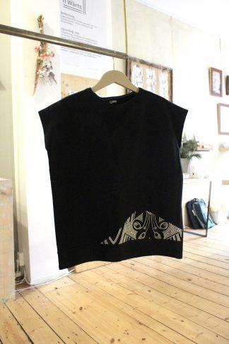 Sweat-Tshirt black bnw