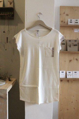 Jerseykleid white Pastell
